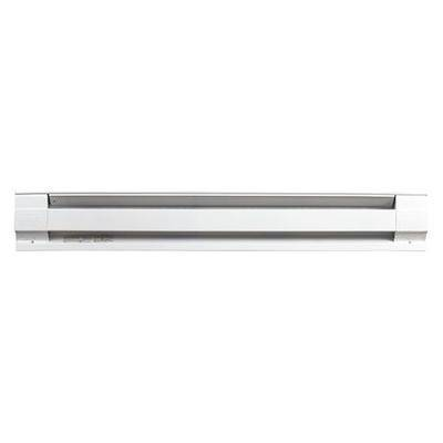 "CADET ""CADET 4F1000W 48"""" Electric Baseboard Heater, White, 750/1000W, 208/240V"""
