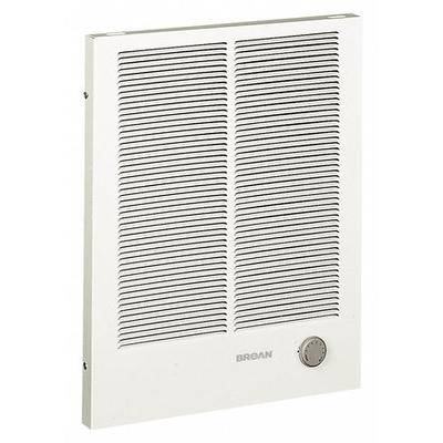 BROAN 194 Electric Wall Heater, Recessed or Surface, 1125/2250, 1500/3000 Watts