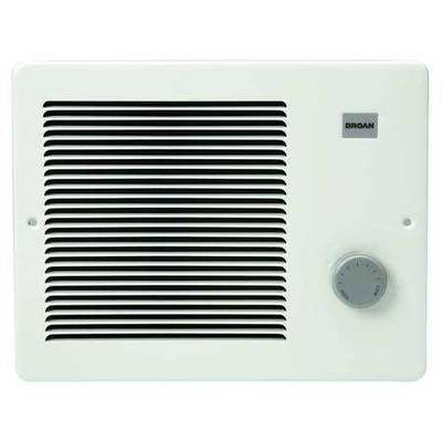 BROAN 170 Electric Wall Heater, Recessed or Surface, 1000/500/750/1000 W, White