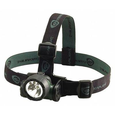 STREAMLIGHT 61051 STREAMLIGHT 80/25/6 Lumens, LED Green Headlamp