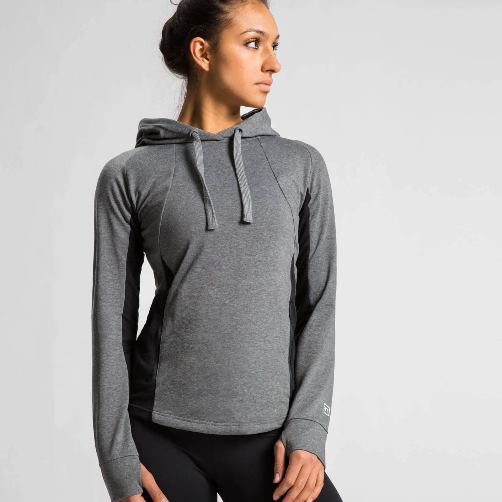IdealFit Superlite Pullover Hoodie - Charcoal - S - Charcoal