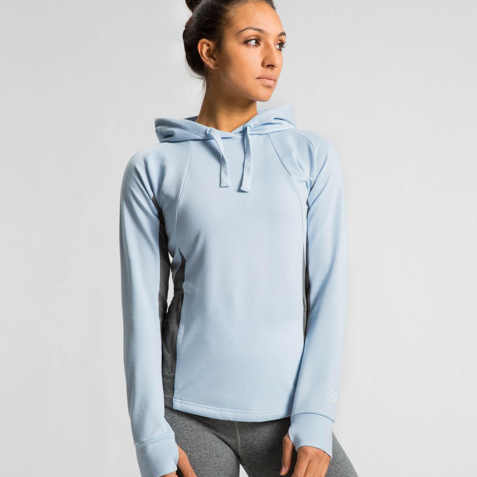 IdealFit Superlite Pullover Hoodie - Light Blue - S - Blue