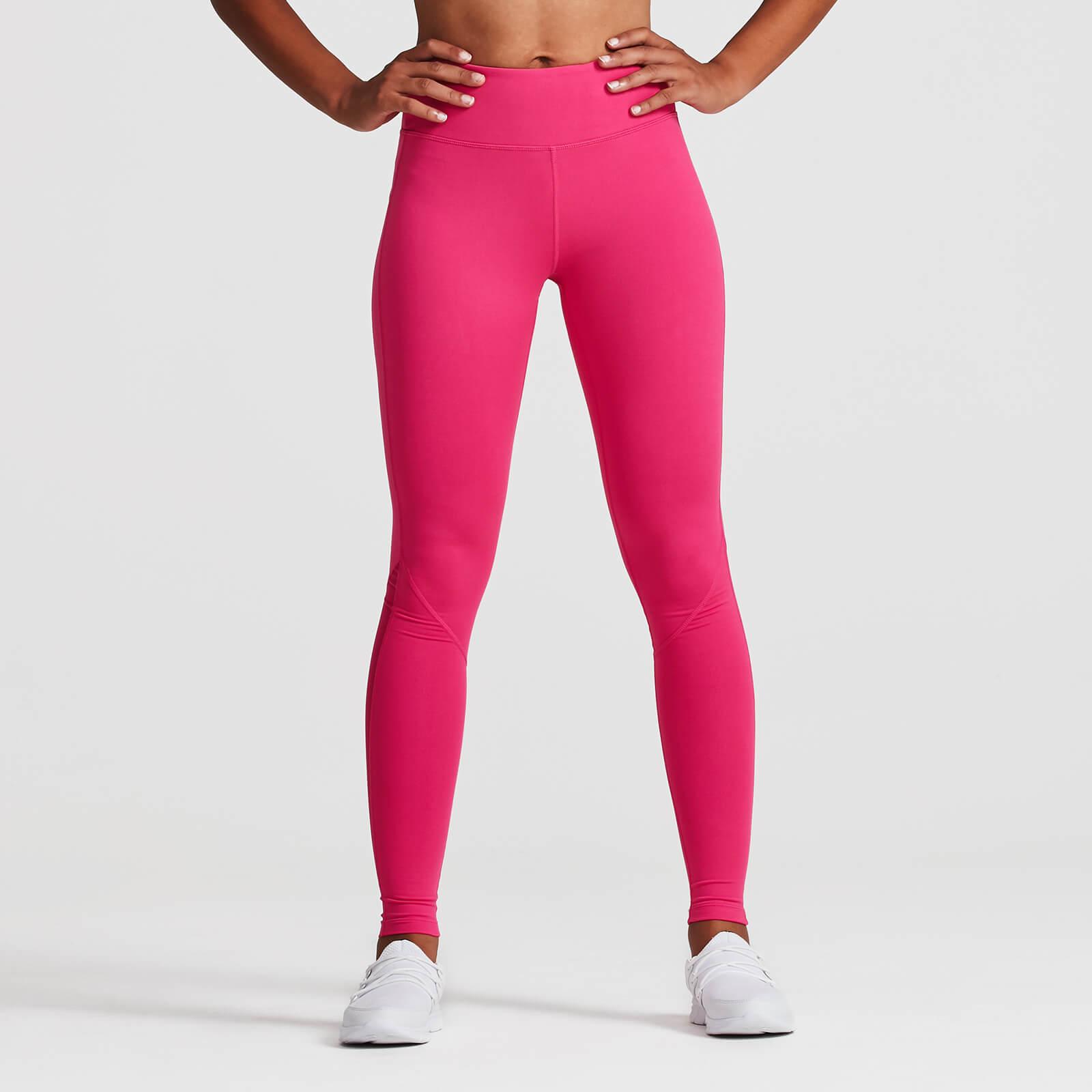 IdealFit Core Full Length Mesh Leggings - S - Pink
