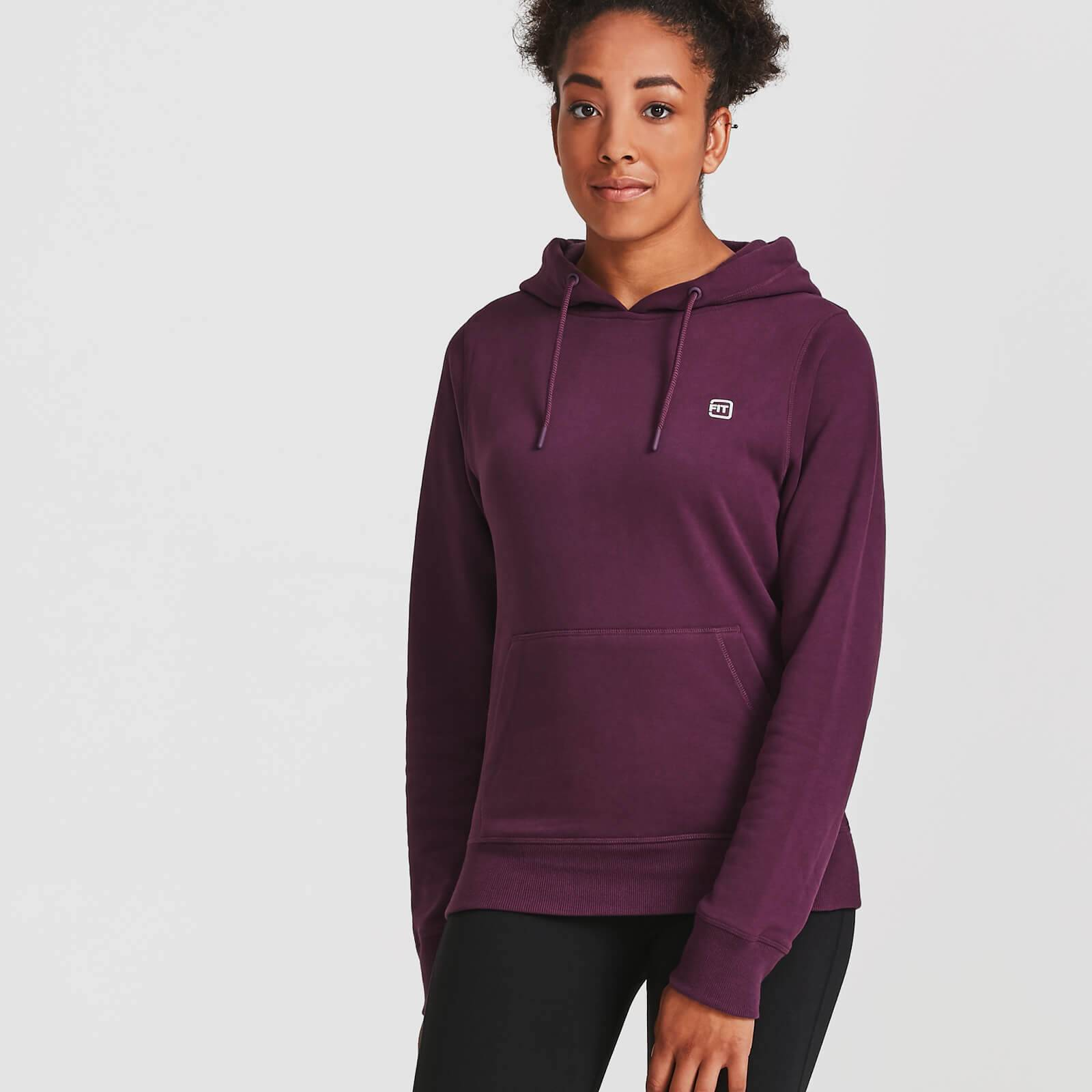 IdealFit Core Pullover Hoodie - M - Purple