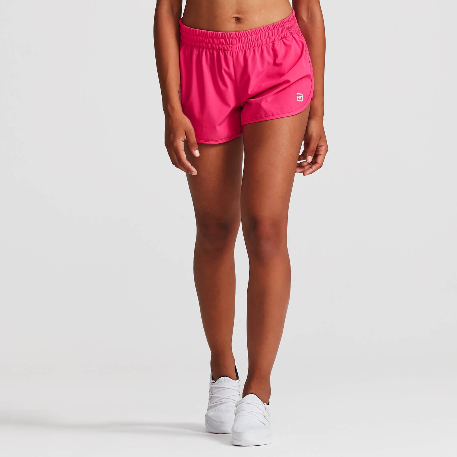 IdealFit 4-Way Stretch Shorts - Pink - XL - Pink