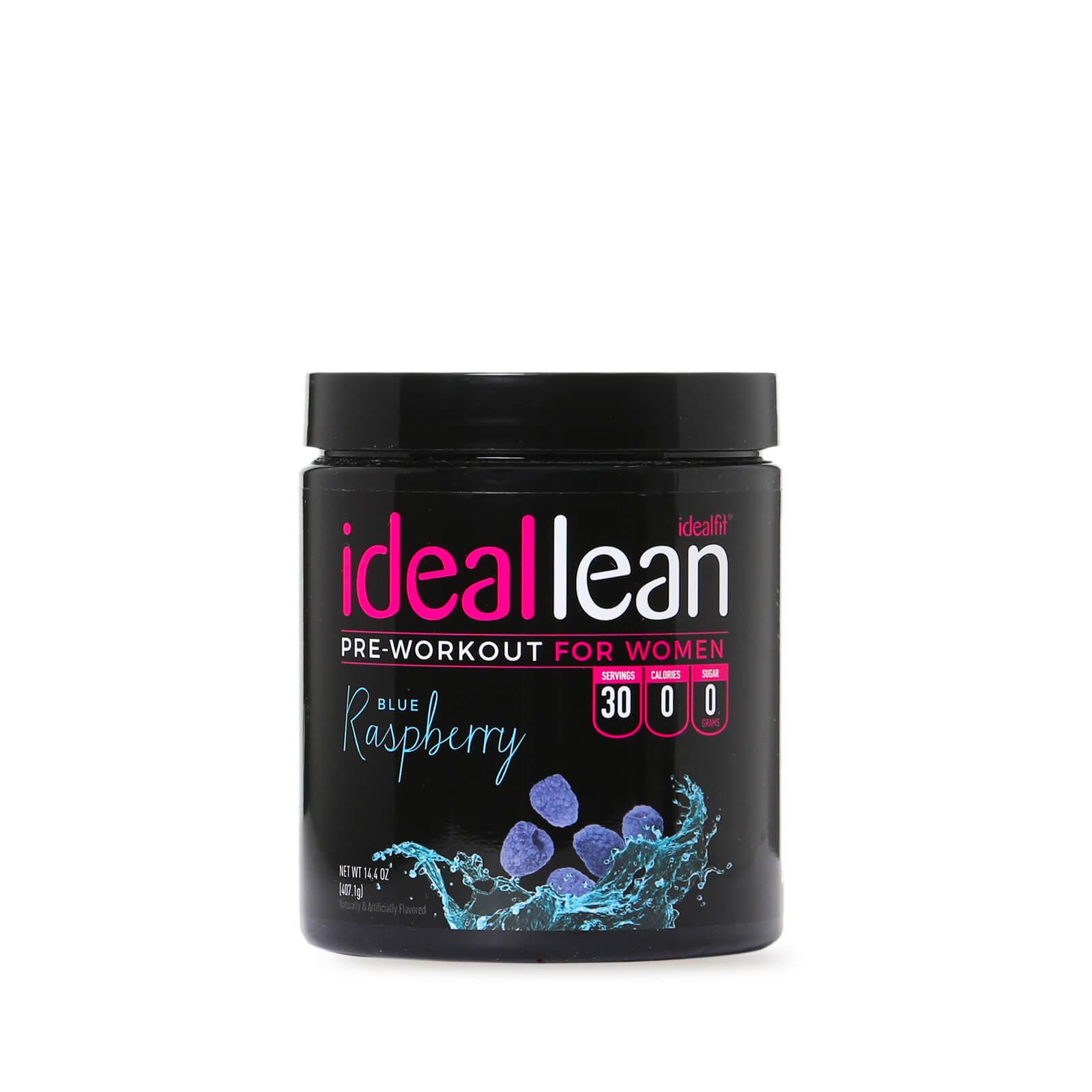IdealFit IdealLean Pre-Workout - Blue Raspberry - 30 Servings