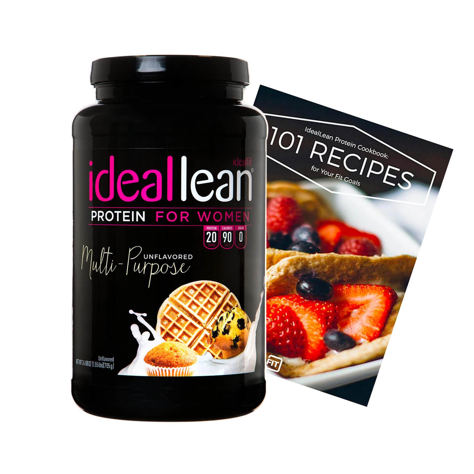 IdealLean Protein Cookbook Stack