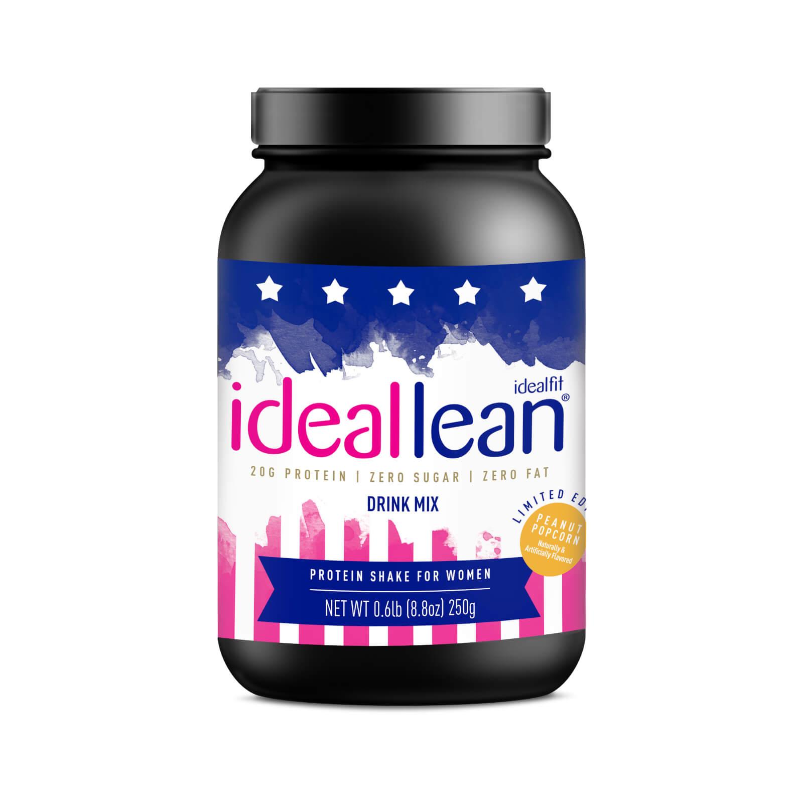 IdealFit Ideallean Protein - 10 Servings - Peanut Popcorn