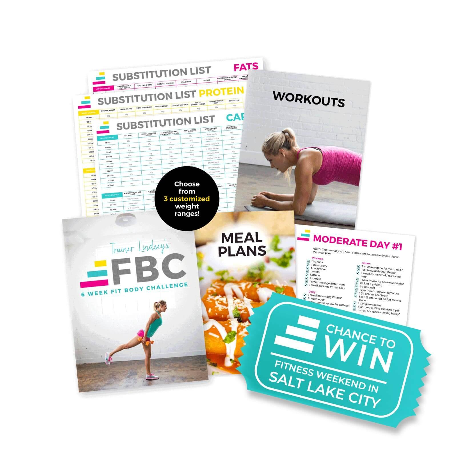 IdealFit Trainer Lindsey's Six Week Fit Body Challenge