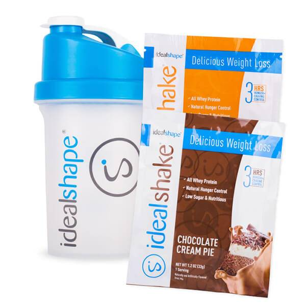 IdealShape 2 Sample Packs and Blender Bottle - Child