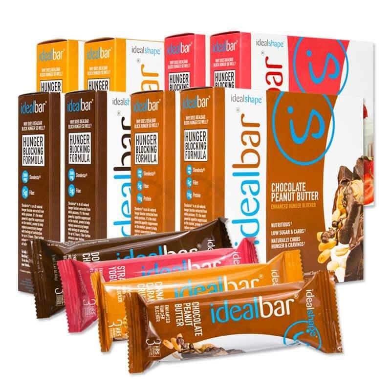 IdealShape IdealBar Snack Bars - 8 Boxes - Child