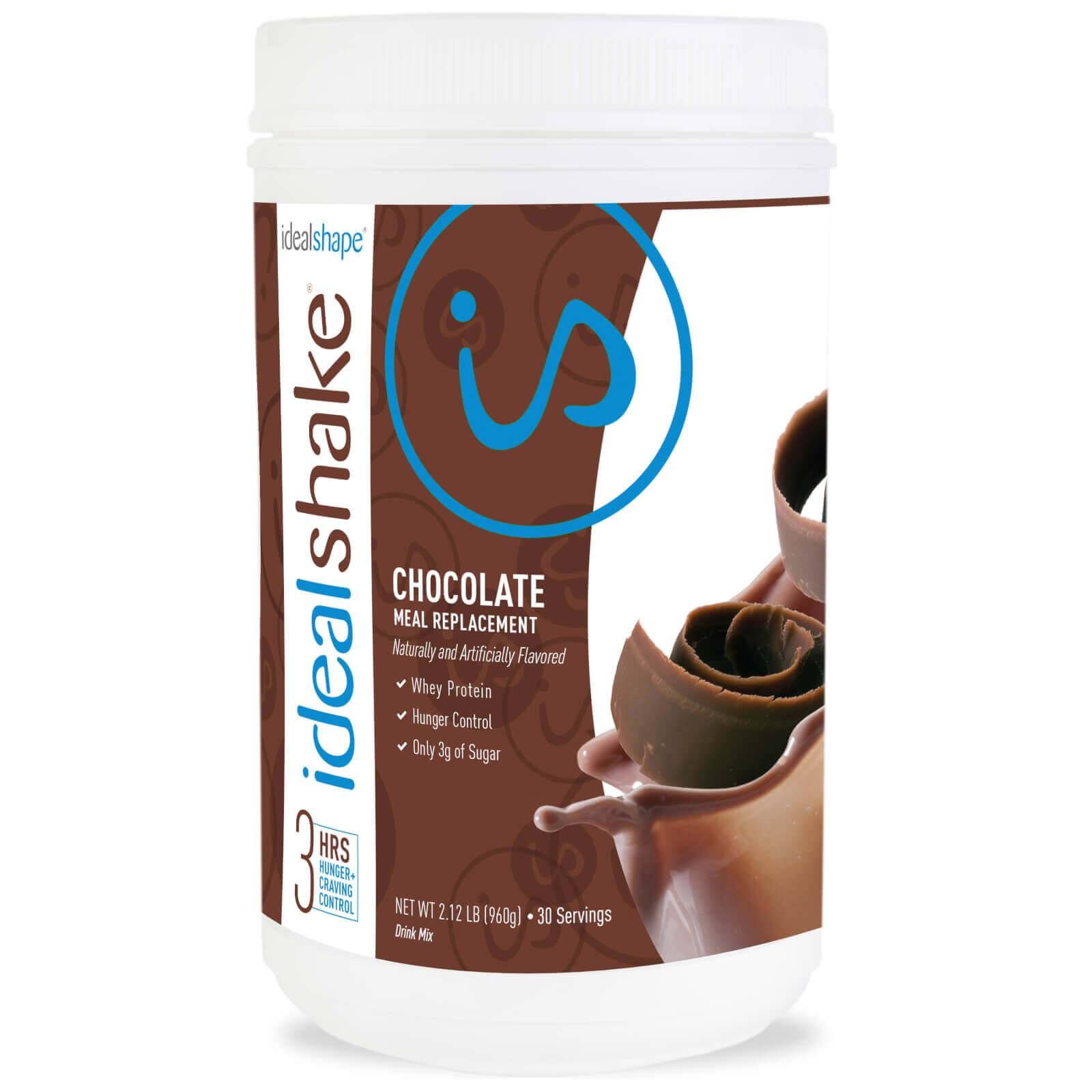 IdealShape IdealShake Chocolate - Meal Replacement Shake - 30 Servings