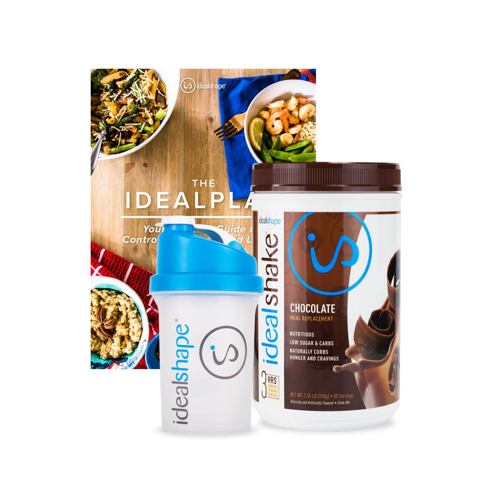 IdealShape 1 Meal Replacement Shake Tub + FREE eBooks & Bottle - Child