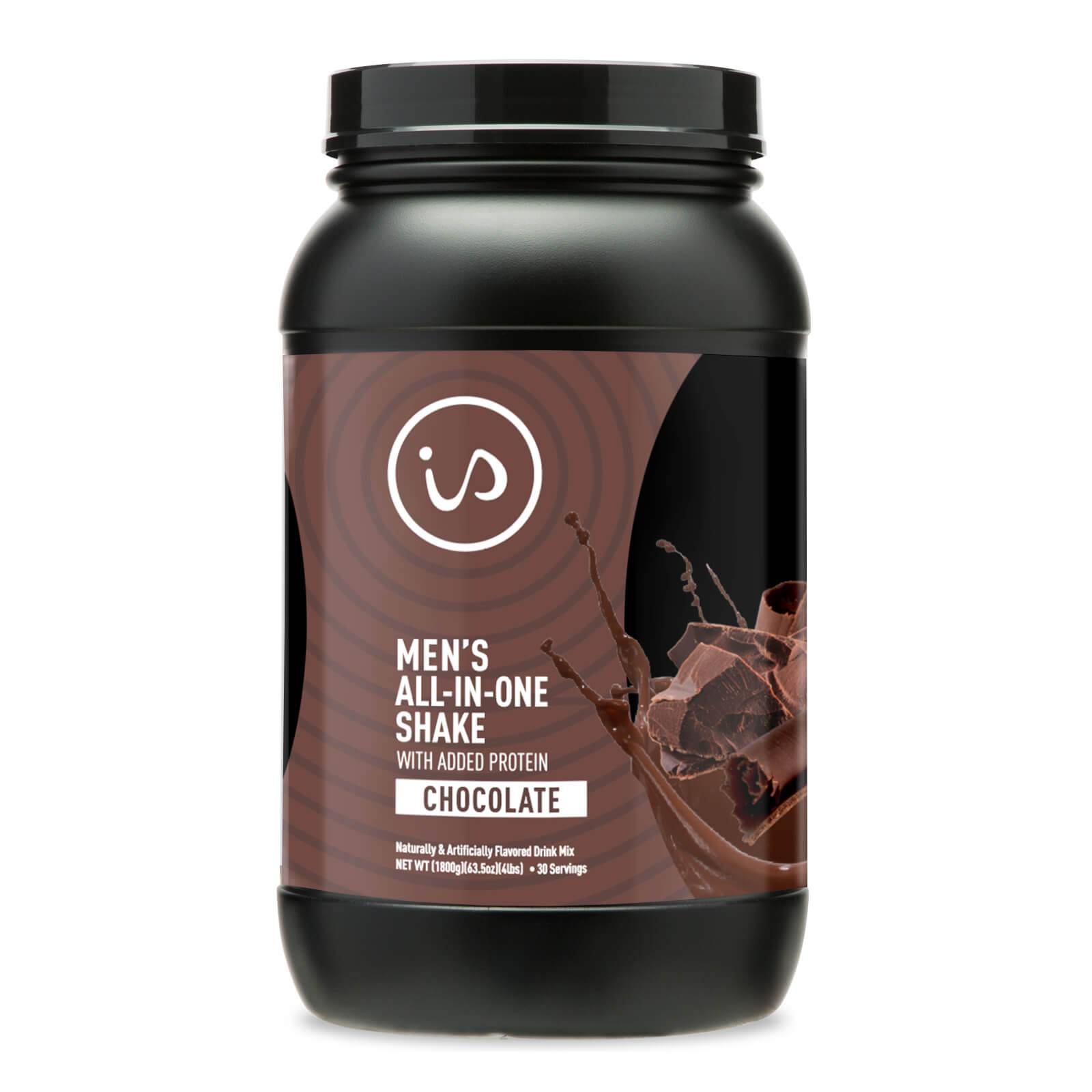 IdealShape Men's All in One Chocolate - Meal Replacement Shake