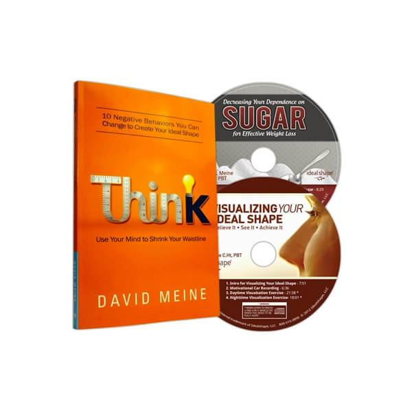 IdealShape 2 Motivational Weight Loss CD's and Think Book by David Meine - Child