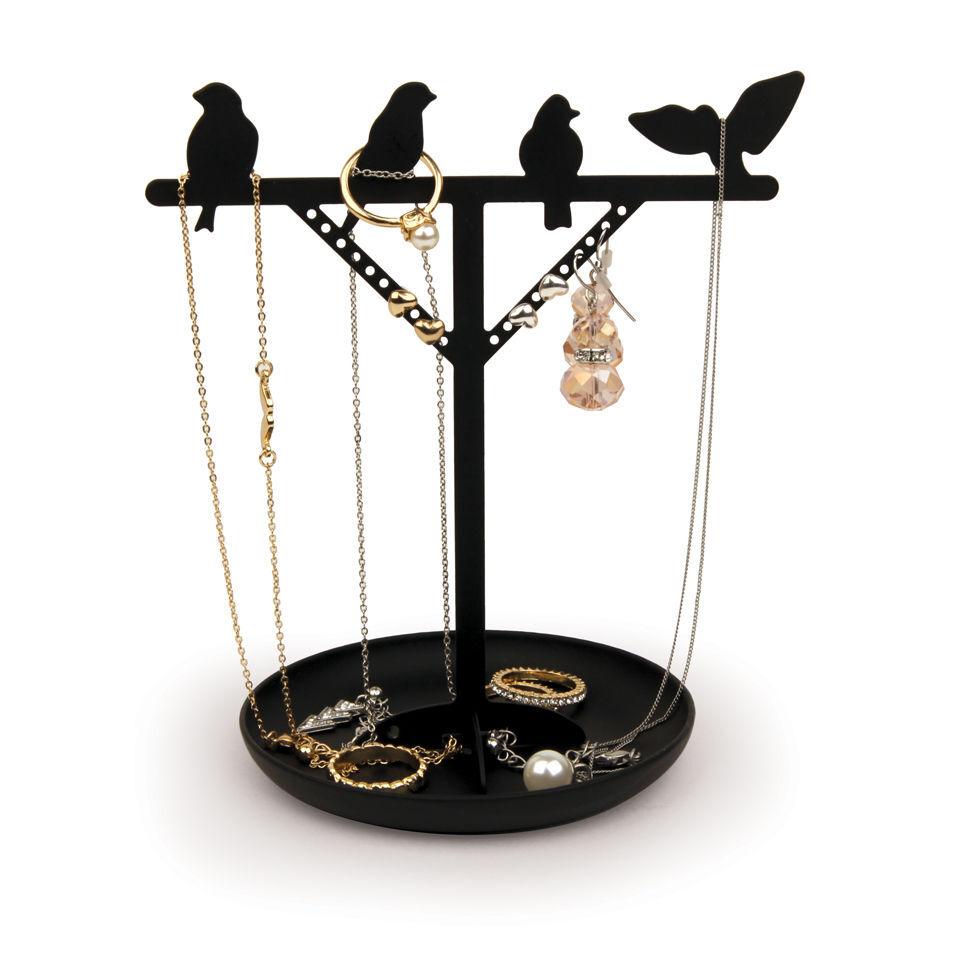 Kikkerland Bird Jewellery Stand