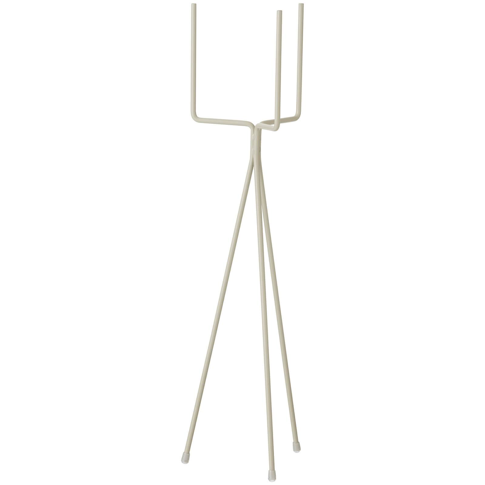 Ferm Living Plant Stand - Low - Light Grey