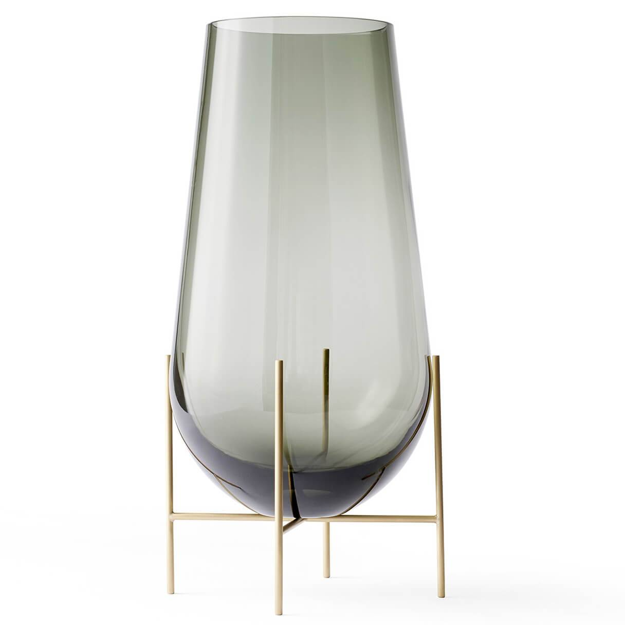 Menu Echasse Vase - Small - Smoke