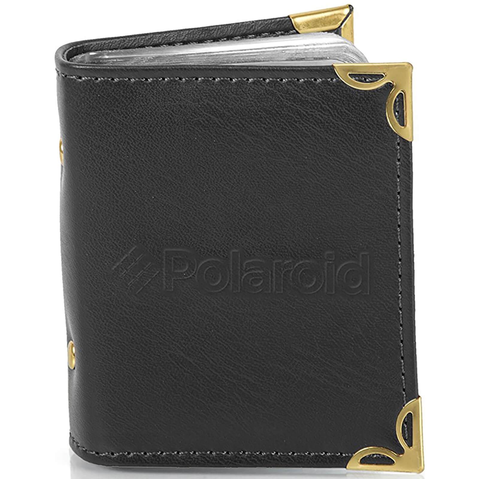 Polaroid Leatherette Photo Album (For 2x3 Inch Film/Paper) - Black