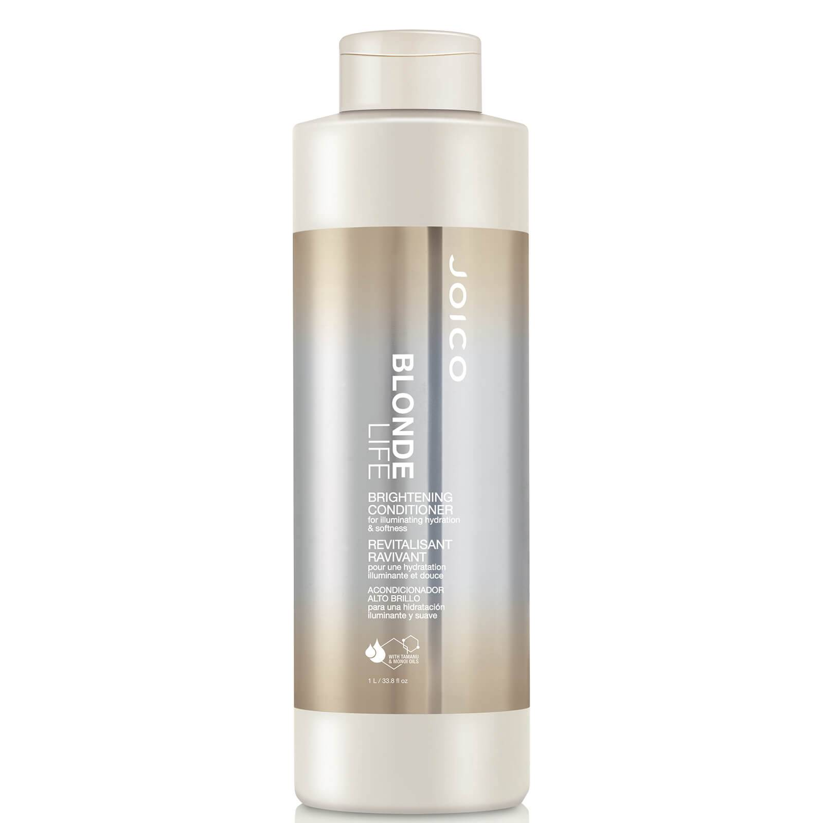 Joico Blonde Life Brightening Conditioner for Illuminating Hydration and Softness 1000ml