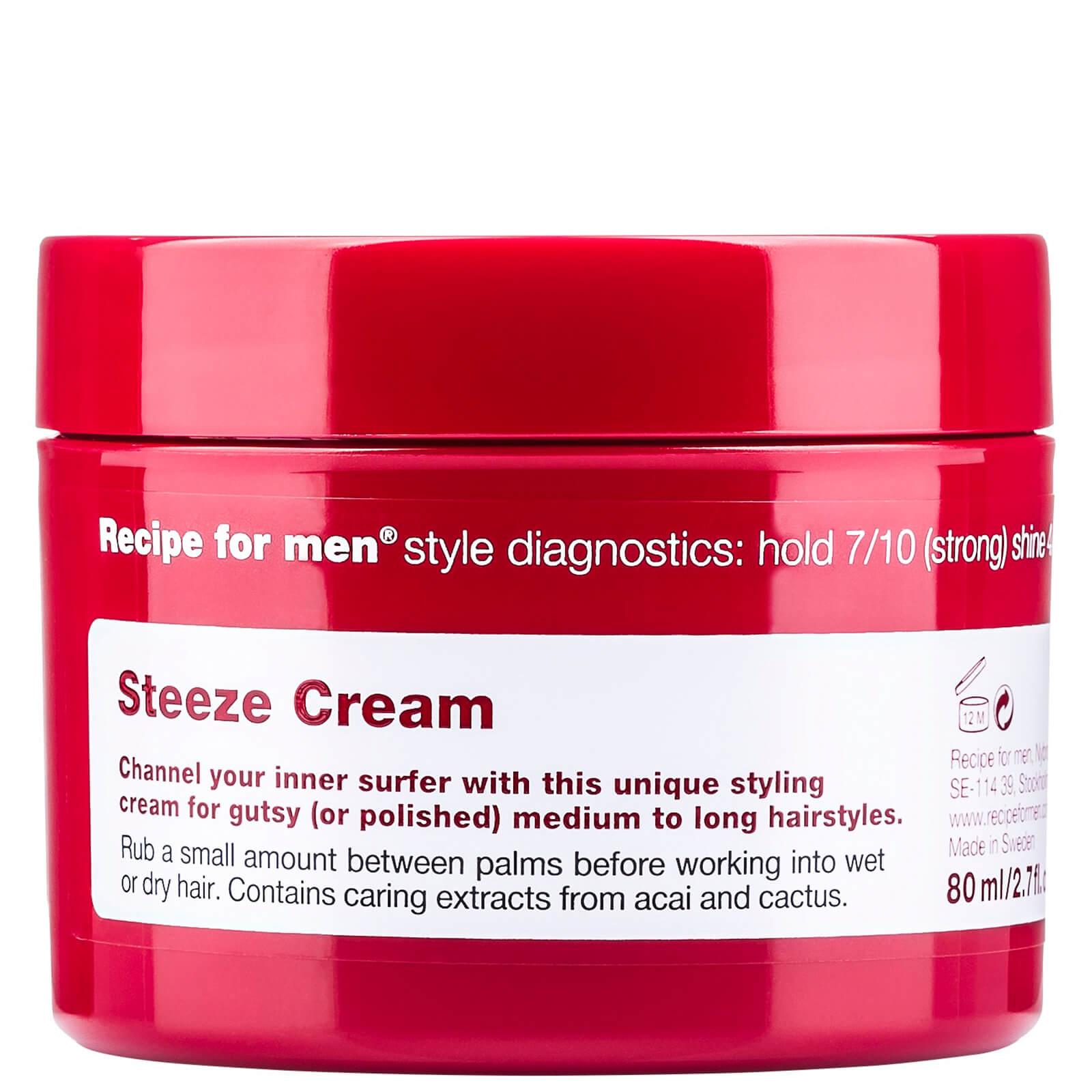 Recipe for Men Steeze Wax 80ml