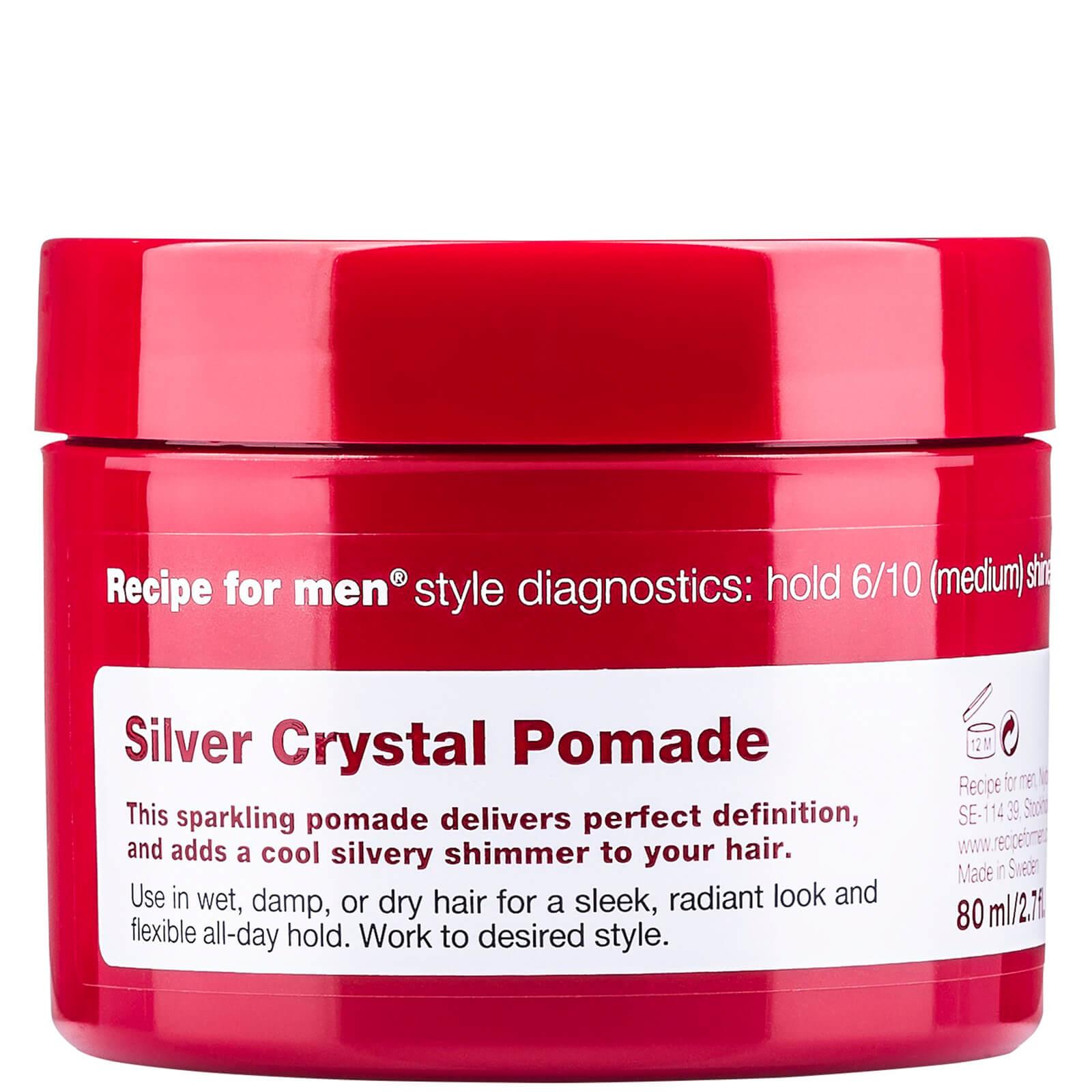 Recipe for Men Silver Crystal Pomade 80ml