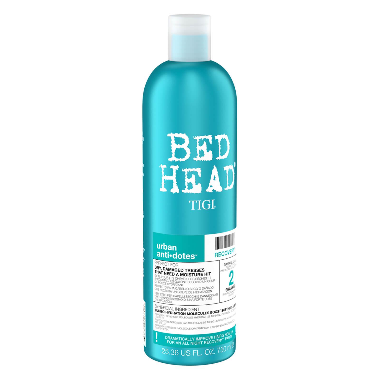 Tigi Bed Head Urban Antidotes Recovery Moisturising Shampoo for Dry and Damaged Hair 750ml