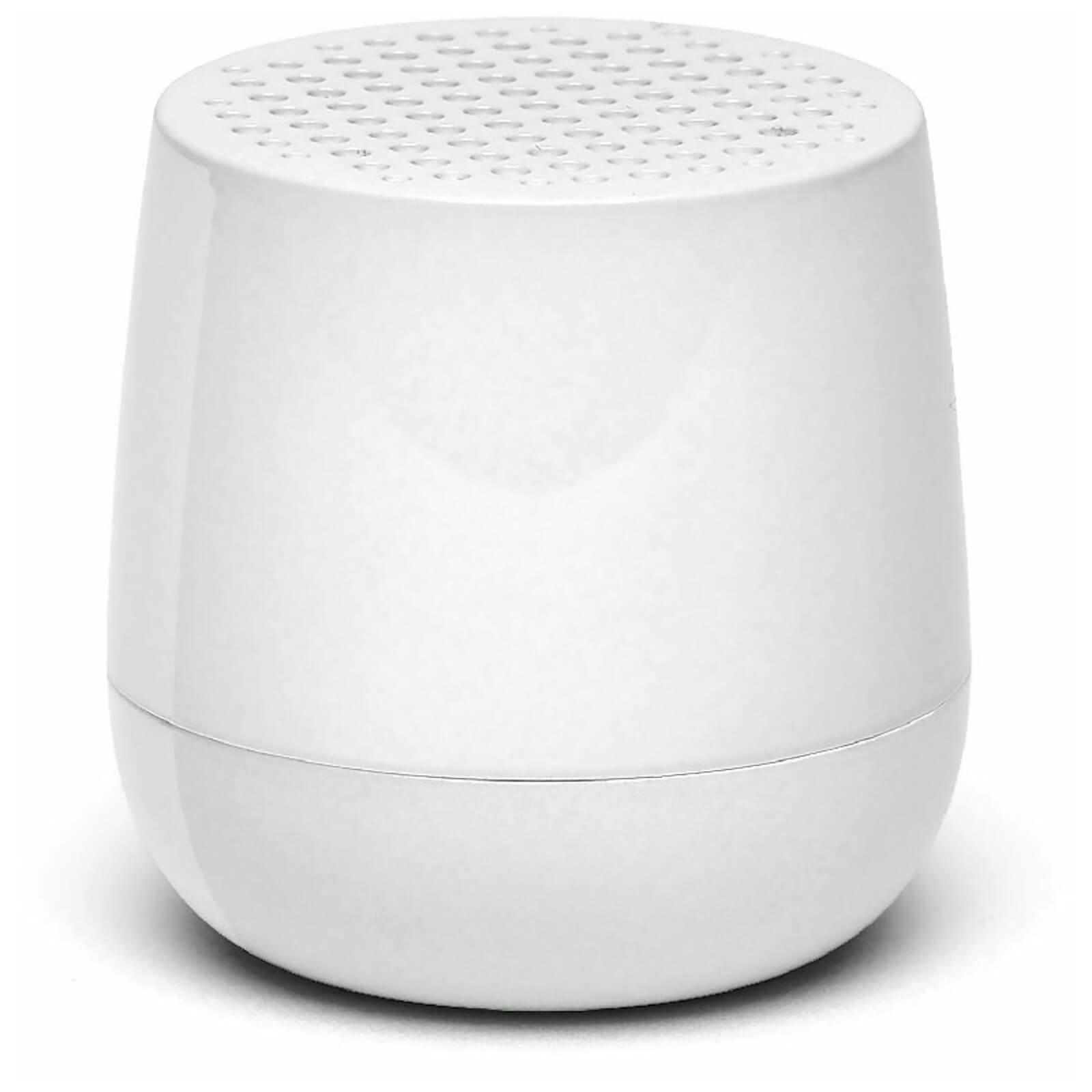 Lexon MINO Glossy Bluetooth Speaker - ABS Glossy White