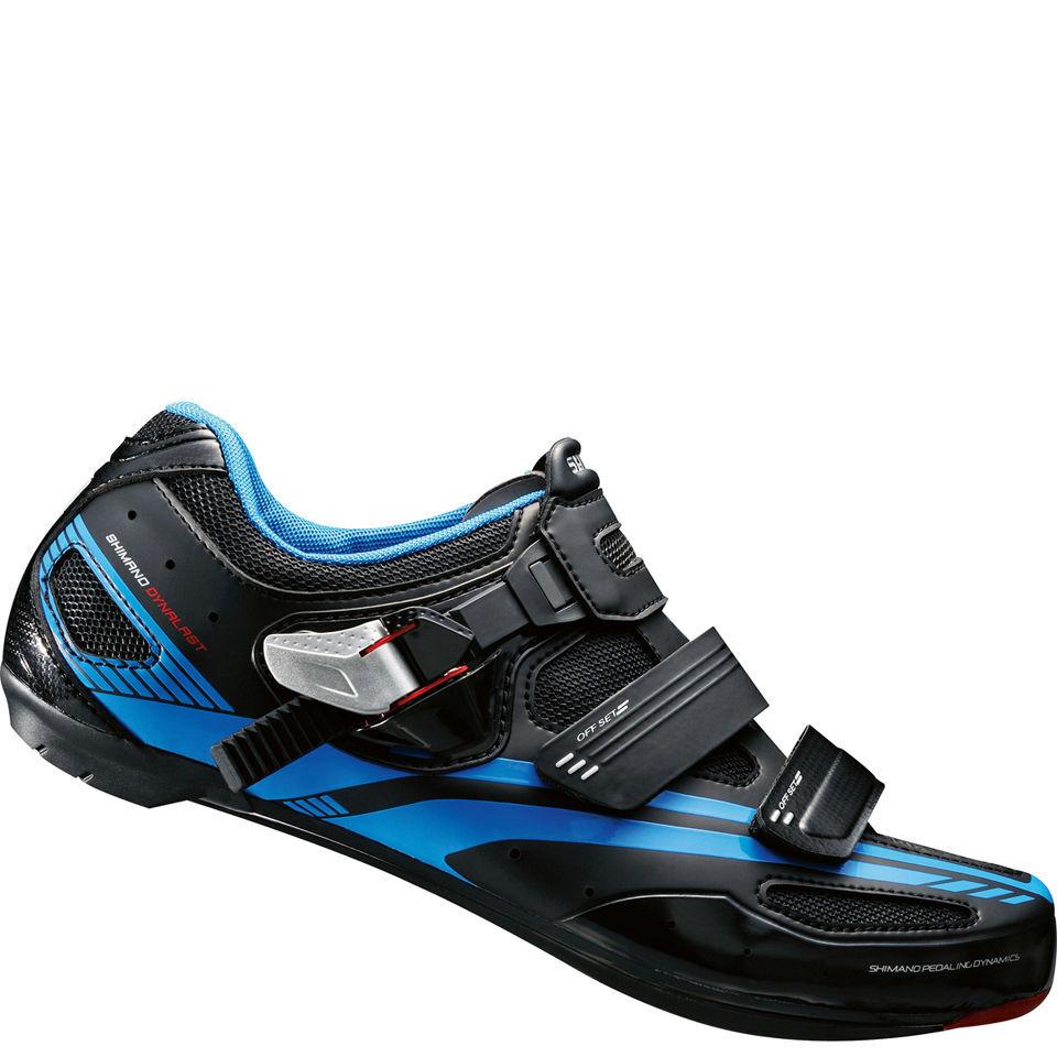Shimano R107 Spd-Sl Cycling Shoes - Black - 42 - Black