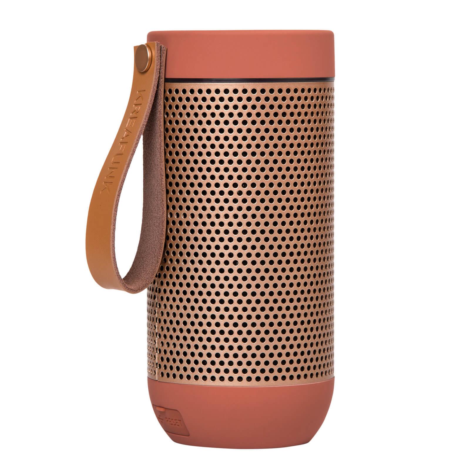 Kreafunk aFUNK 360 Degrees Bluetooth Speaker - Soft Coral/Rose Gold
