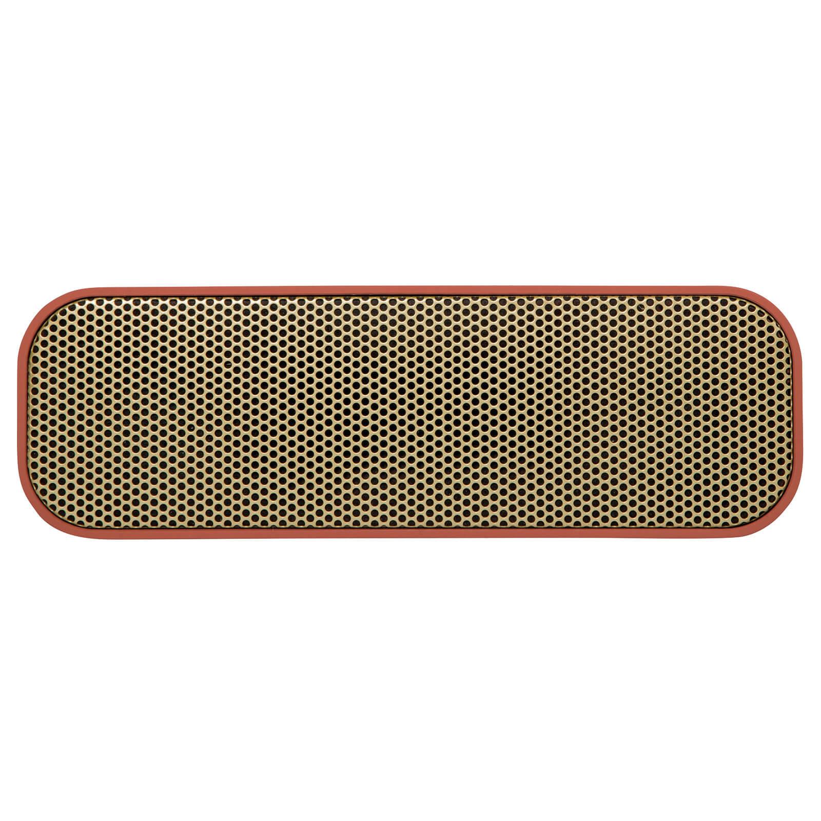 Kreafunk aGROOVE Bluetooth Speaker - Soft Coral/Gold