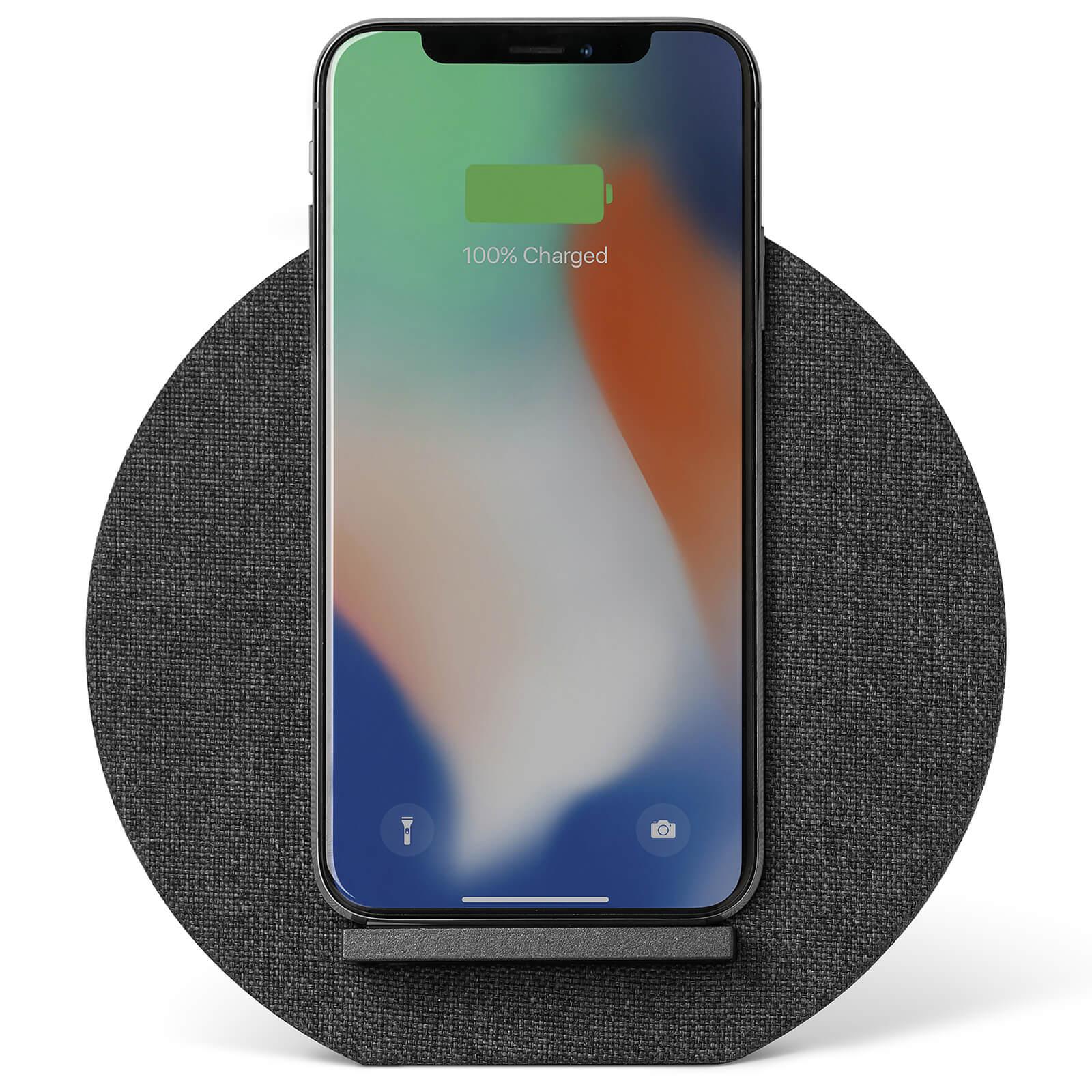 Native Union Dock Wireless Fabric Charger - Slate