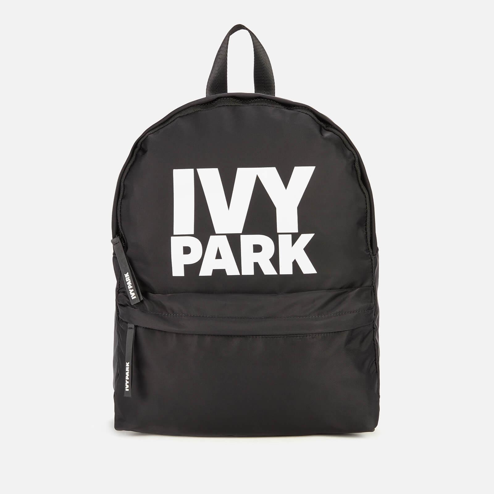 Ivy Park Women's Stacked Logo Backpack - Black