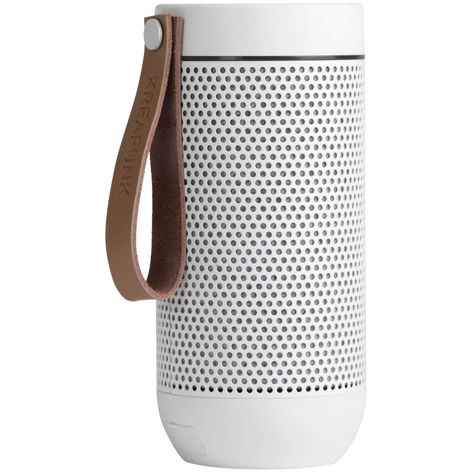 Kreafunk aFUNK 360 Degrees Bluetooth Speaker - White Edition