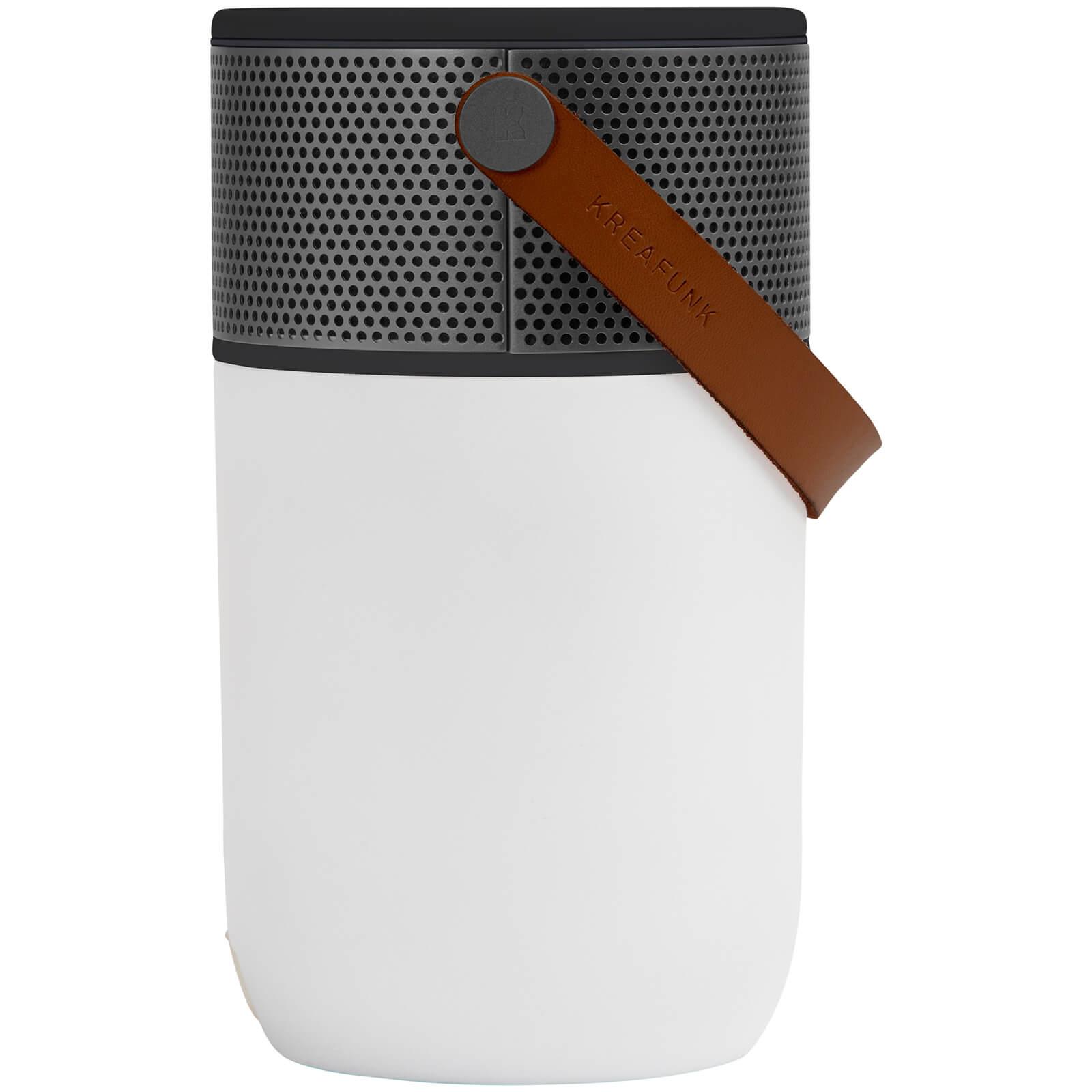 Kreafunk aGLOW Multifunctional Bluetooth Speaker - Black Edition