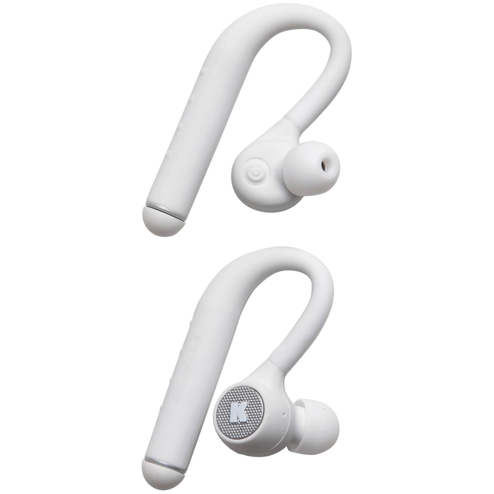 Kreafunk bGEM Bluetooth Wireless In-Ear Headphones - White Edition