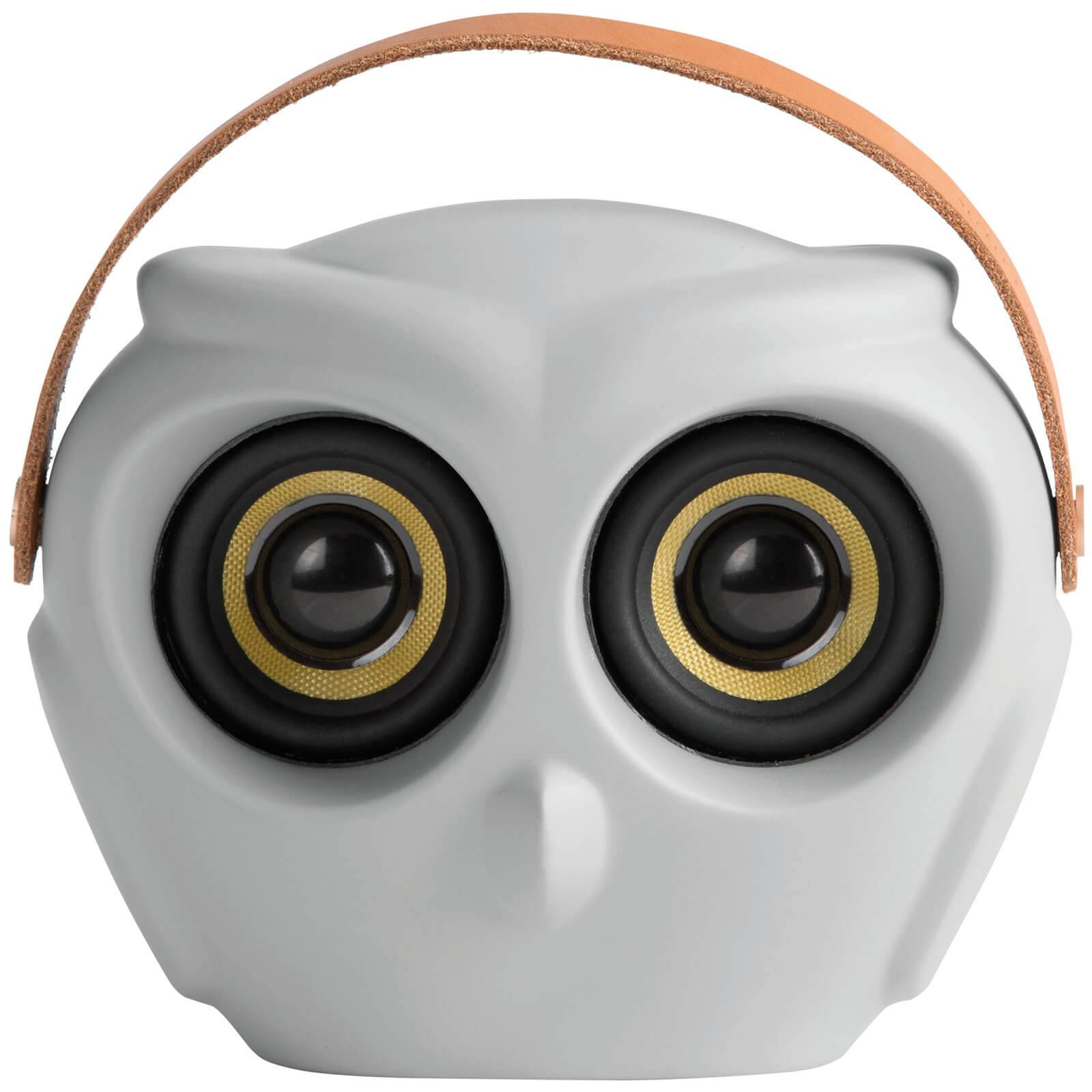 Kreafunk aOWL Bluetooth Speaker - Cool Grey