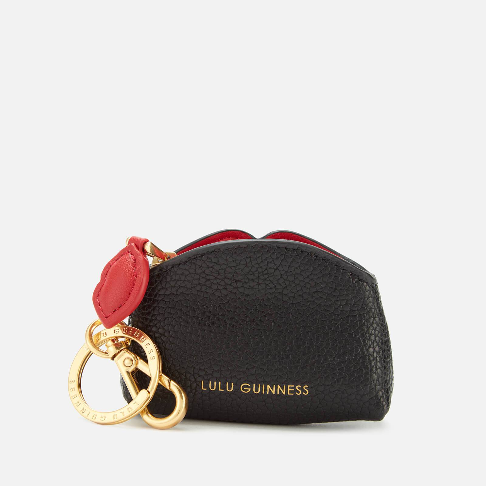 Lulu Guinness Women's Peekaboo Lip Colette Keyring - Black