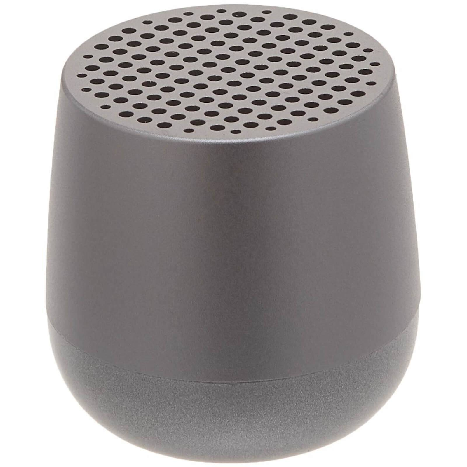 Lexon MINO Bluetooth Speaker - Gun Metal