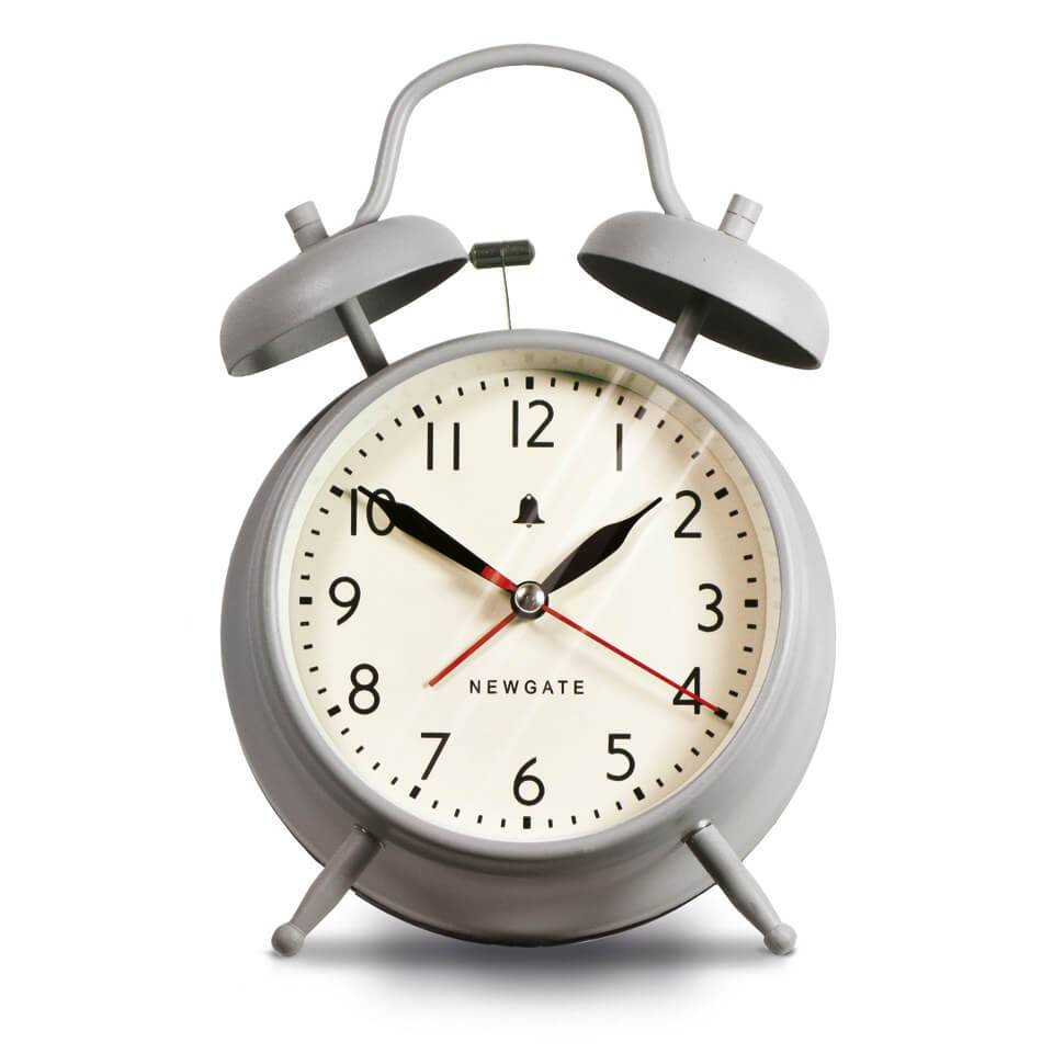 Newgate New Covent Garden Clock - Overcoat Grey