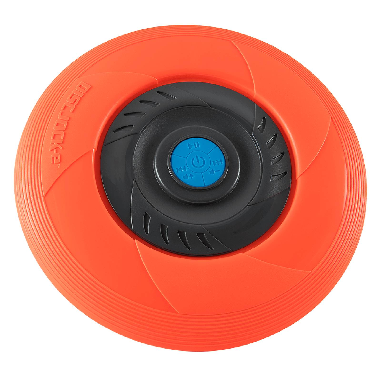 Tucker Disc Jock-e Flying Music Disc - Orange