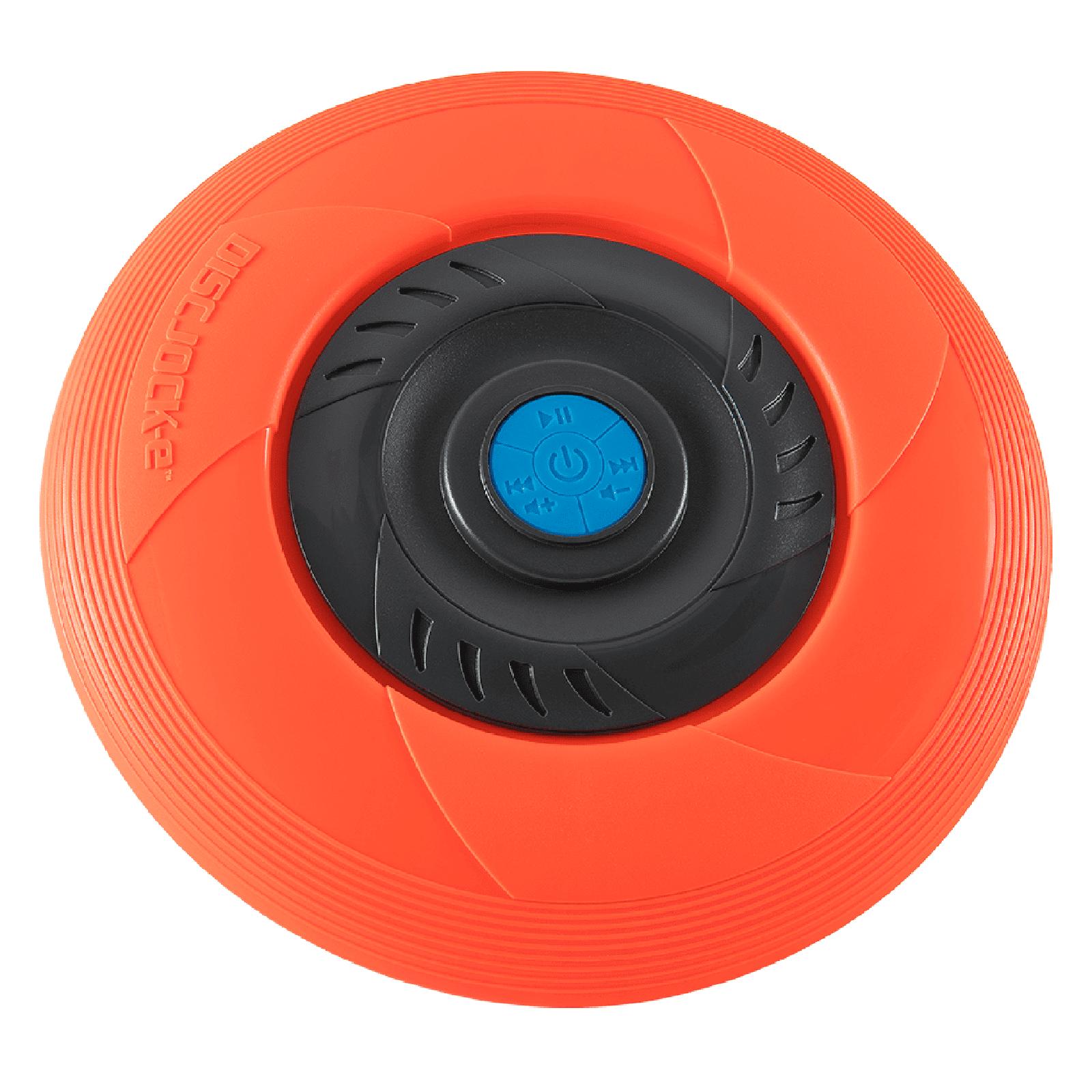 Tucker Disc Jock-e Flying Music Disc - Orange