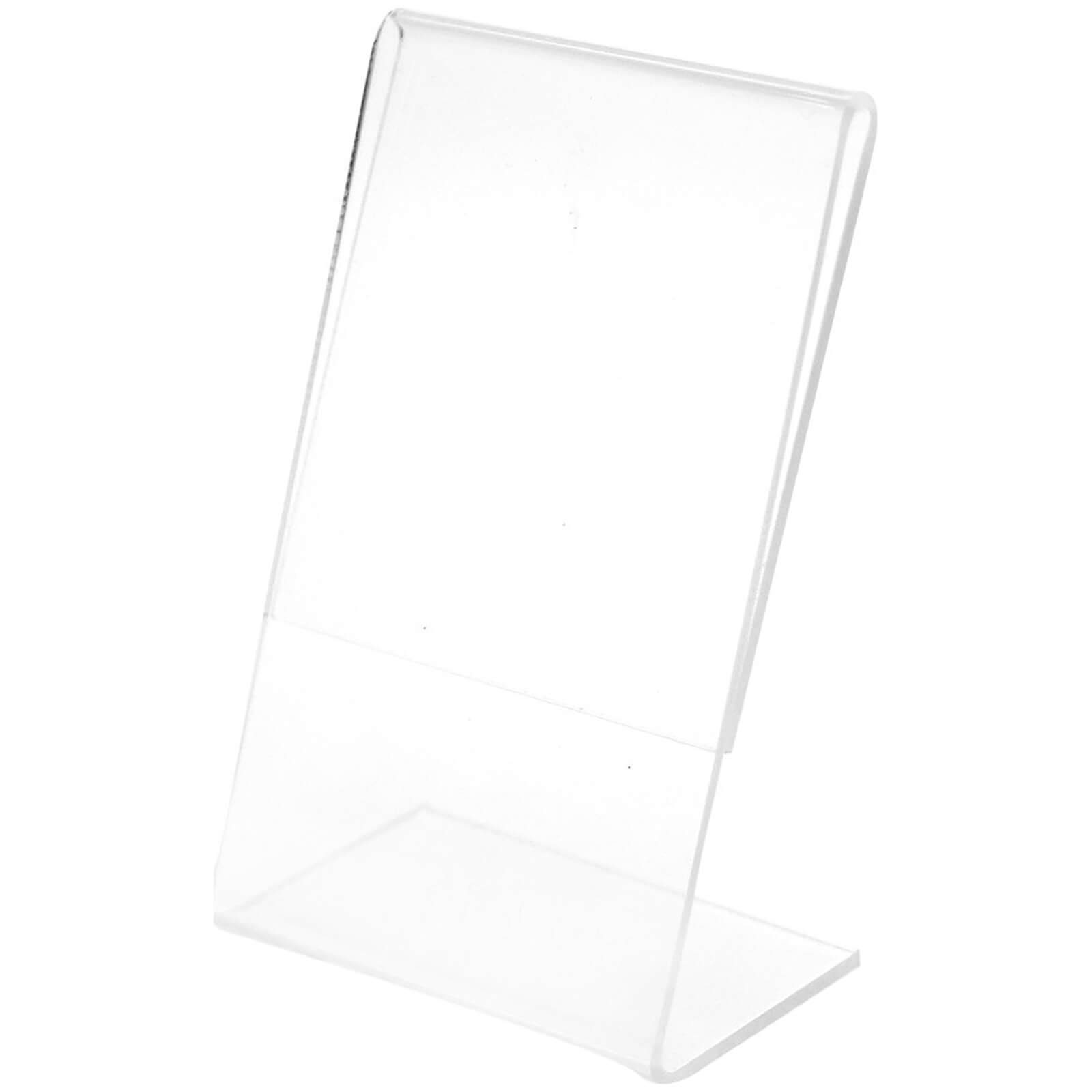 Polaroid Clear L Shaped Acrylic Frame (For 2x3 Inch Film/Paper)
