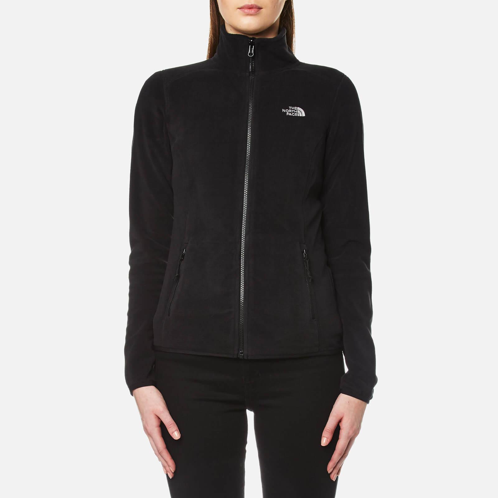 The North Face Women's 100 Glacier Full Zip Fleece - TNF Black - M - Black