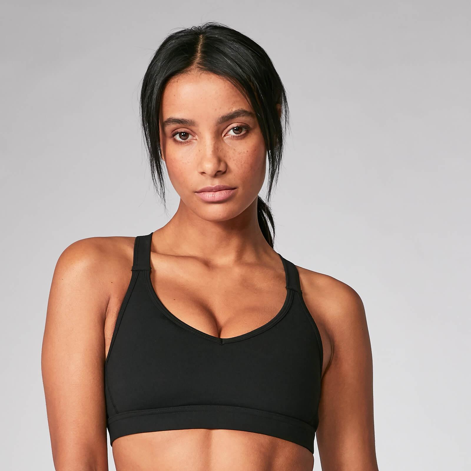 Myprotein Power Mesh Sports Bra - Black - XS