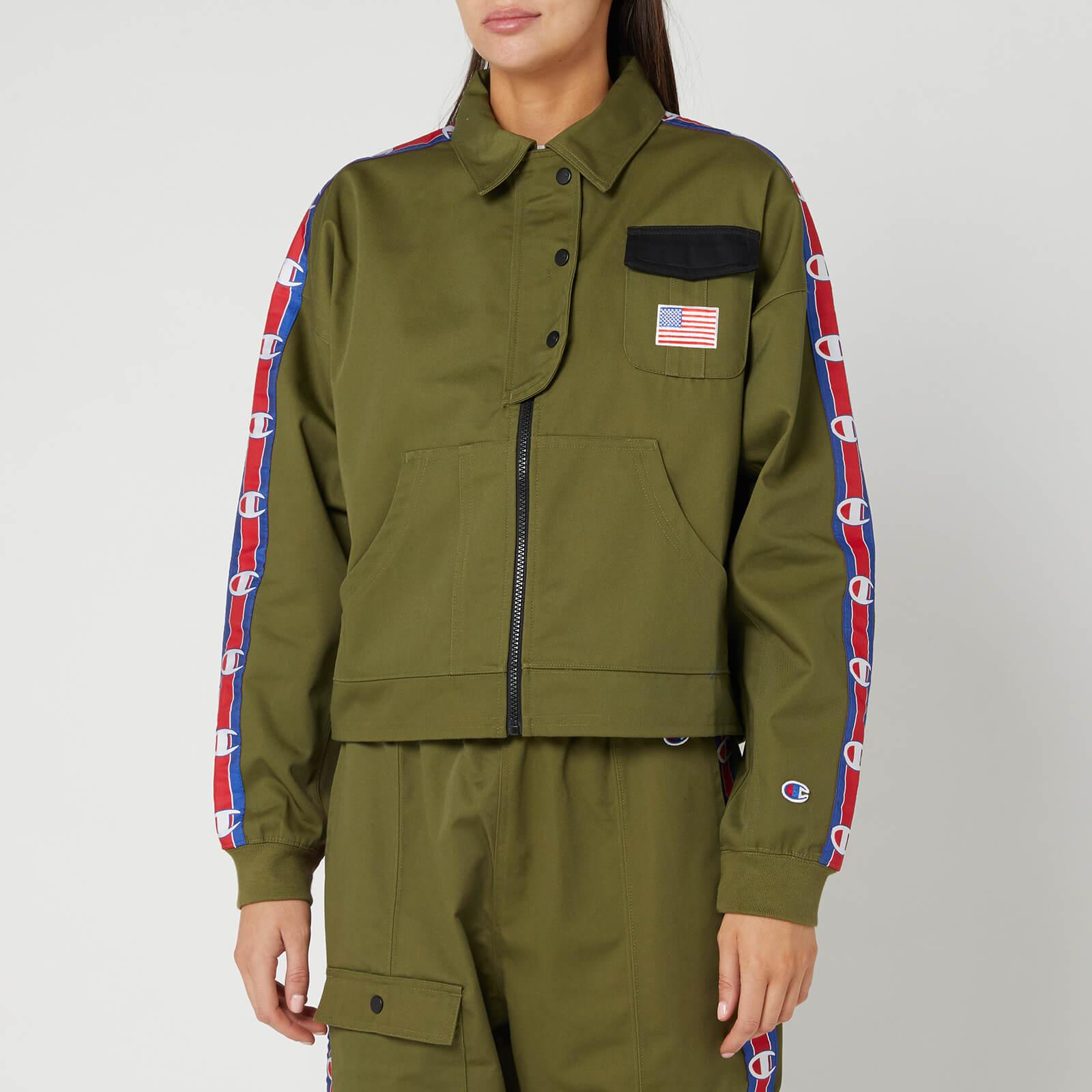 Champion Women's Milatry Jacket - Khaki - L
