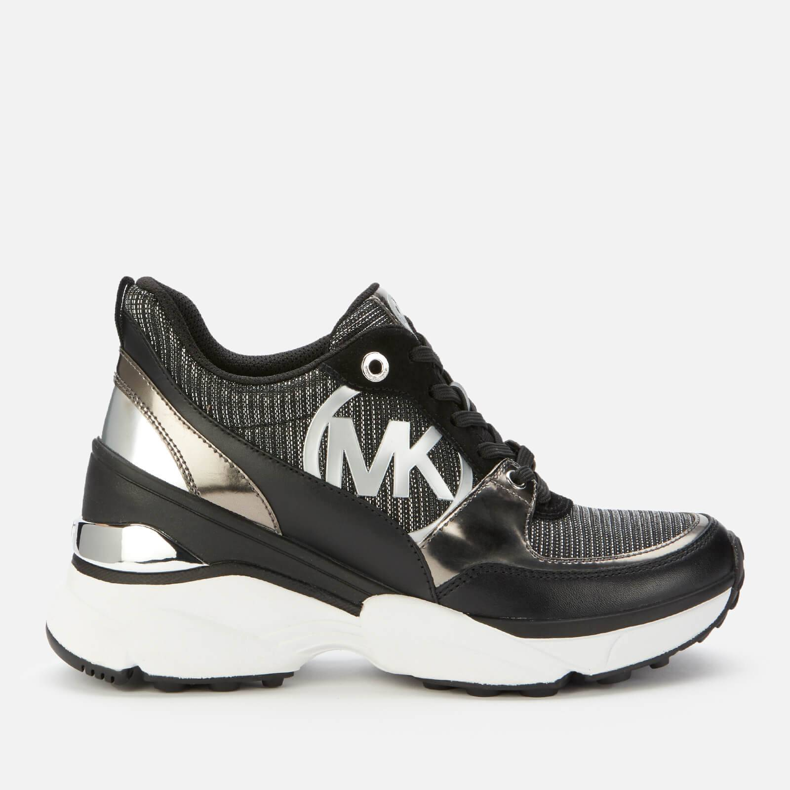 MICHAEL MICHAEL KORS Women's Mickey Chunky Running Style Trainers - Sterling - UK 3/US 6