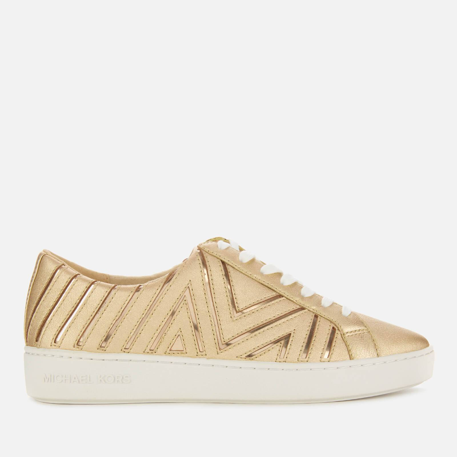 MICHAEL MICHAEL KORS Women's Whitney Low Top Trainers - Pale Gold - UK 4/US 7