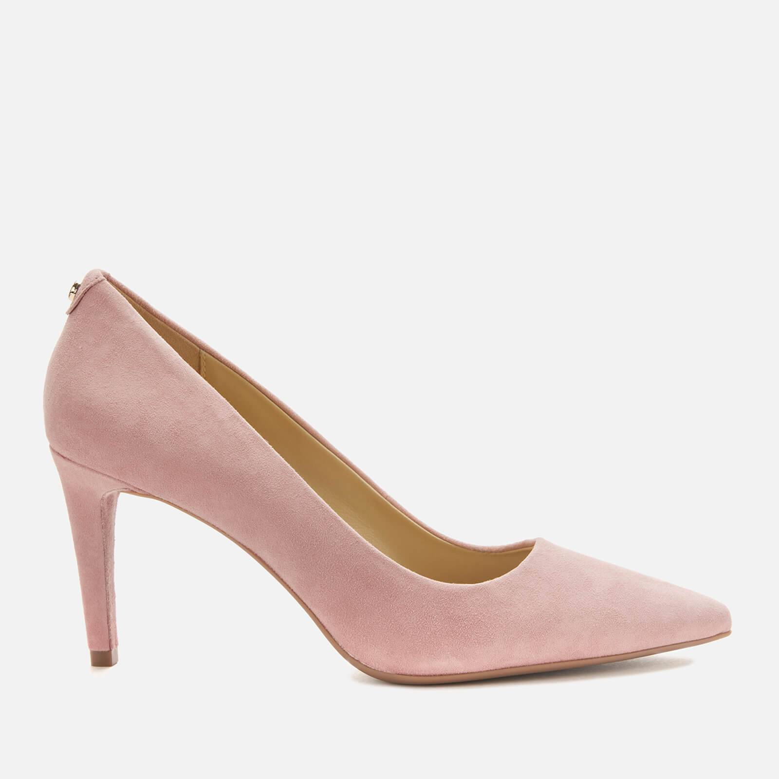 MICHAEL MICHAEL KORS Women's Dorothy Flex Suede Court Shoes - Sunset Peach - UK 4/US 7