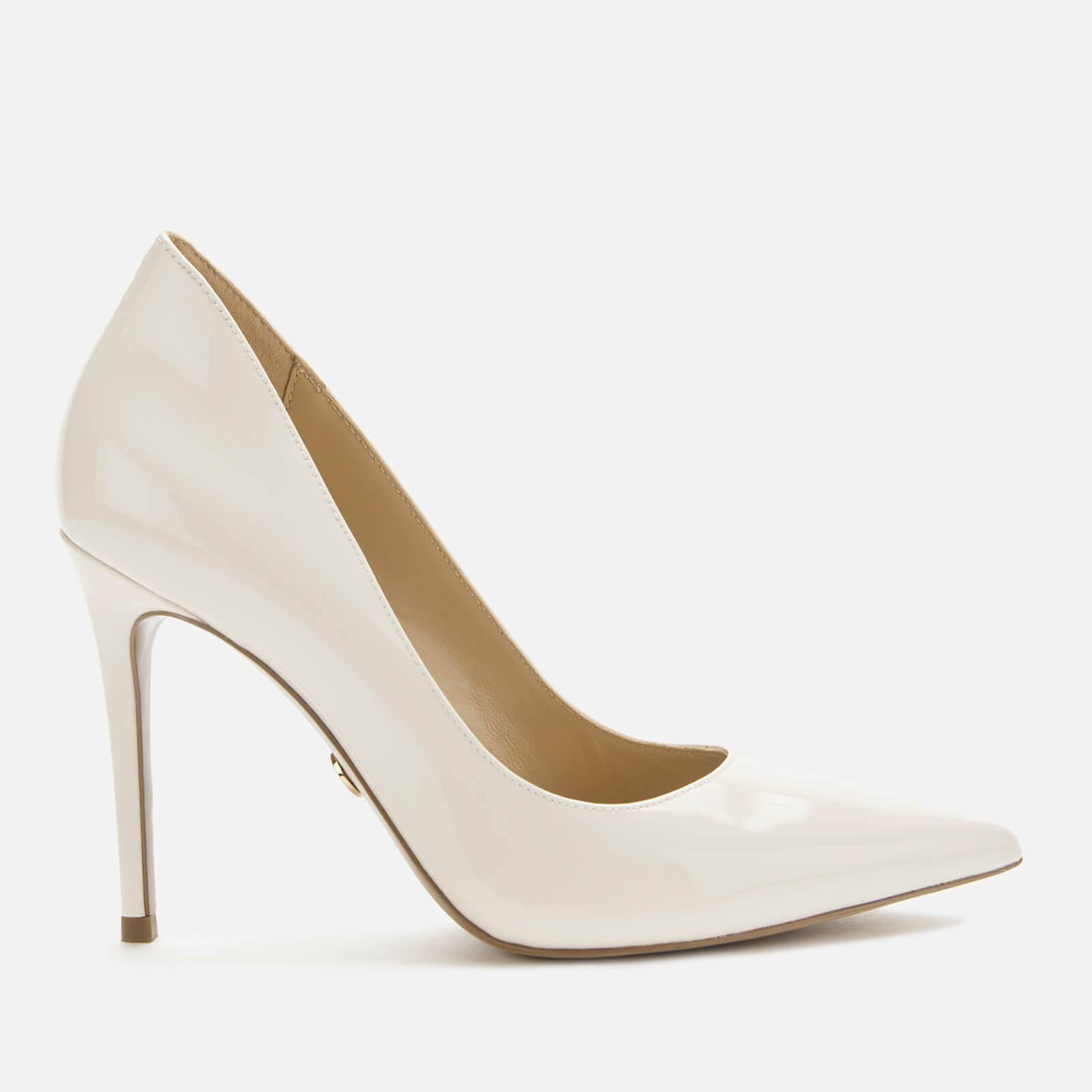 MICHAEL MICHAEL KORS Women's Keke Patent Leather Court Shoes - Light Cream - UK 4/US 7